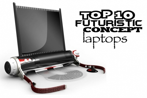 Топ-10 футуристический дизайн концепций ноутбука.