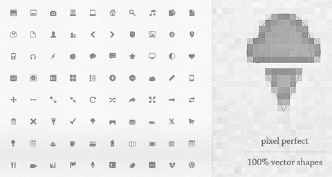 прозрачные иконки: