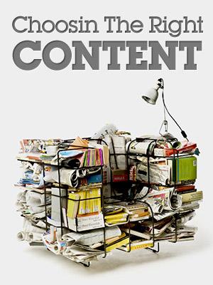 Подбор подходящего контента для вашего блога