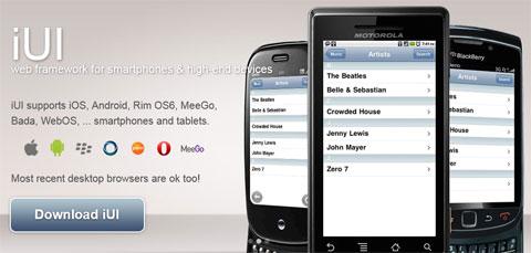 iUI: платформа пользовательских интерфейсов для смартфонов и планшетов