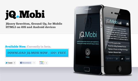 jQ.Mobi: JavaScript-платформа на основе jQuery для разработки мобильных приложений
