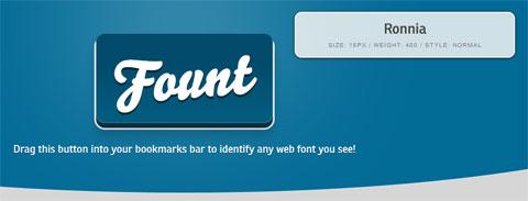 Как определить шрифт - Fount: легкое определение шрифтов, использованных на странице