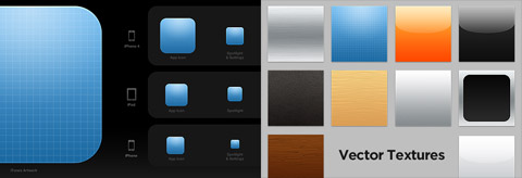 App Icon Template: создаем иконки в стиле приложений iOS