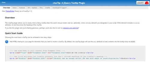 30 jQuery-плагинов для создания подсказок