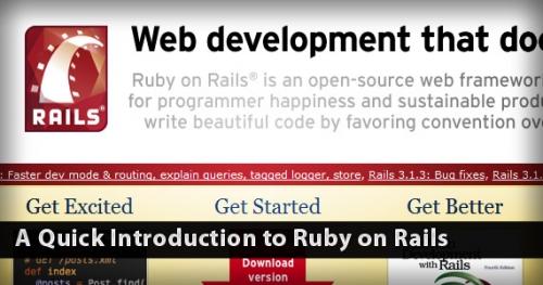 Введение в Ruby on Rails