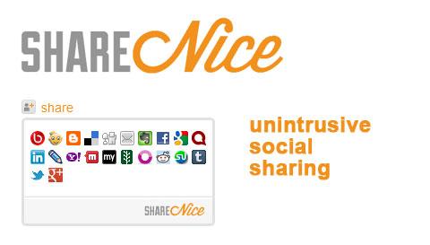 shareNice: виджет социальных сетей с открытым исходным кодом
