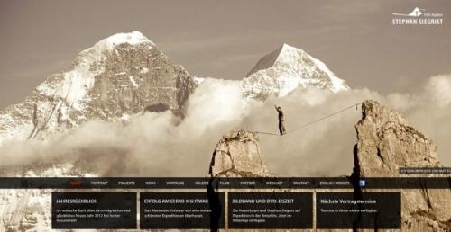 25 веб-сайтов с потрясающим задним планом