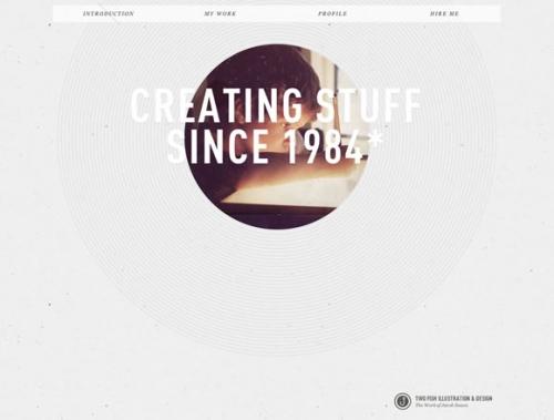 Одностраничные веб-сайты: 23 наглядных примера дизайнерского оформления