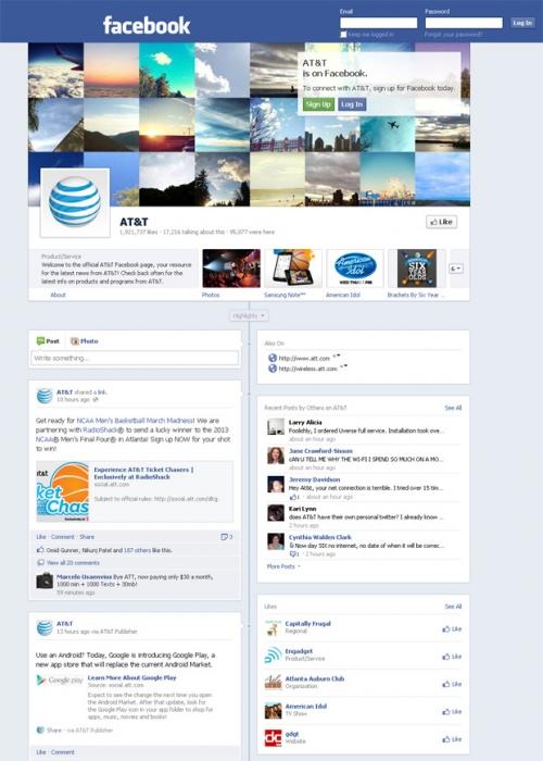 Facebook-хроники для корпоративных страниц – подборка самых оригинальных решений