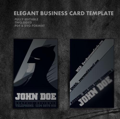 30 бесплатных шаблонов визитных карточек