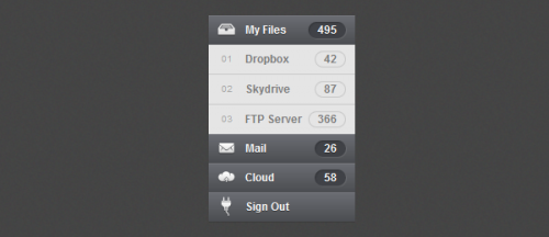 Разрабатываем меню-гармошку на чистом CSS3
