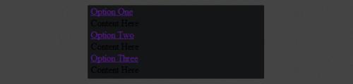 Разрабатываем гармошку с контентом на чистом CSS3