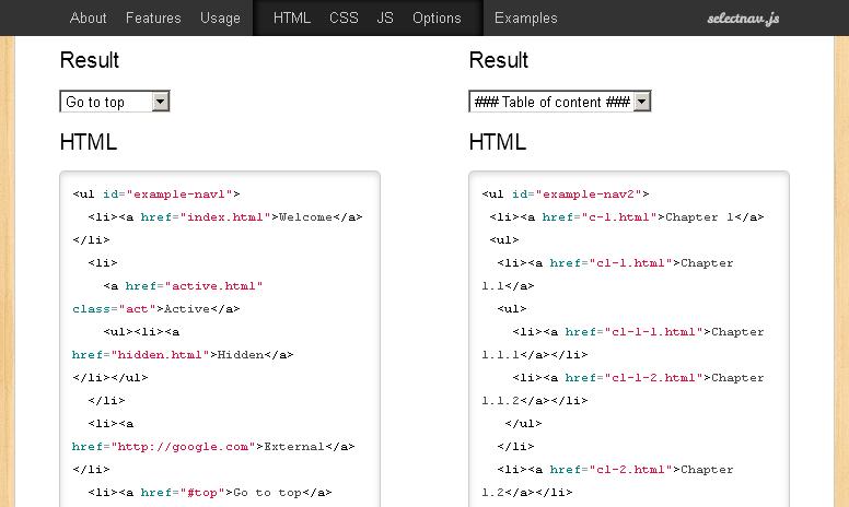 Как в html сделать выпадающее меню после клика