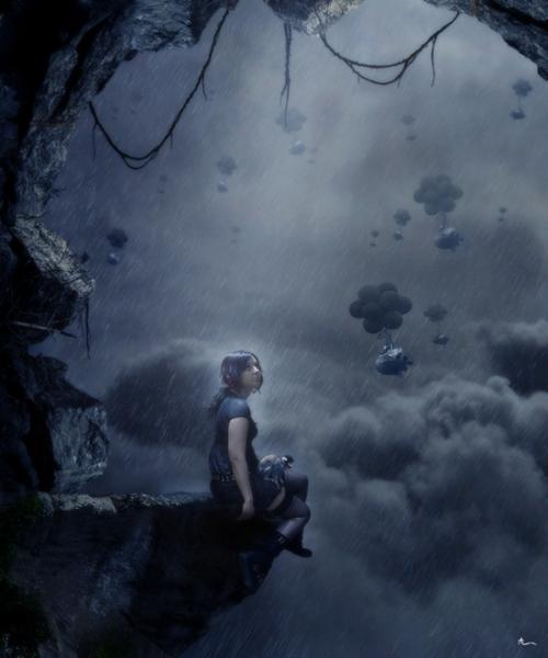 Страшные истории: темные и сюрреалистические фото-манипуляции