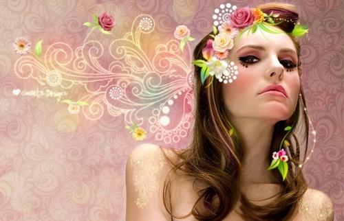 40 креативных примеров манипуляций над женскими фотографиями