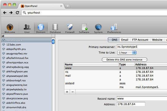хостинг панель для linux