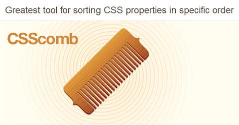CSScomb: сортировка CSS-параметров в нужном порядке