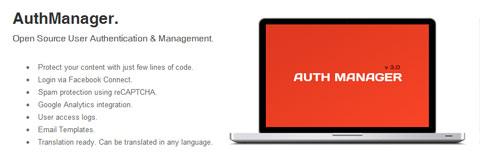 AuthManager: приложение по управлению и авторизации пользователей на PHP
