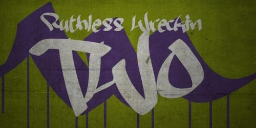 Бесплатный шрифт в стиле граффити