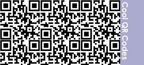Образцы классных двухмерных QR-кодов