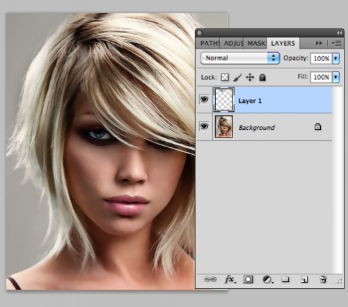 Уроки Photoshop: Изменение цвета волос при помощи Photoshop