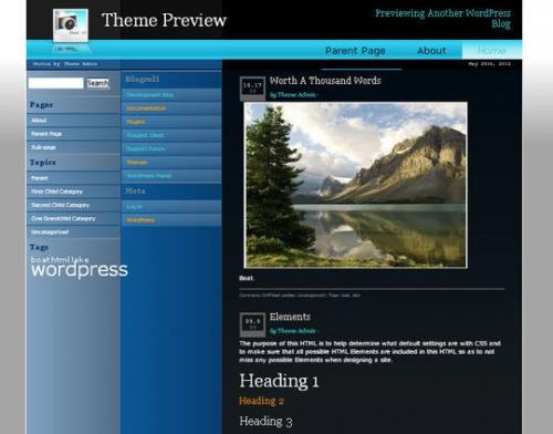 Бесплатный WordPress-шаблон