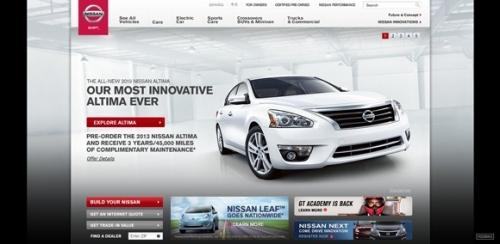 Автомобильный веб-сайт