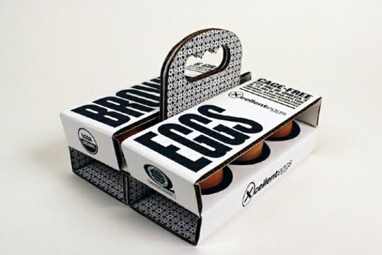 Дизайн коробки для яиц