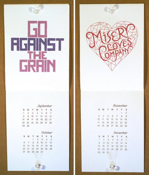 10 великолепных дизайнов календаря на 2013