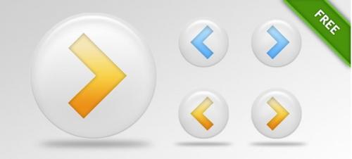 Кнопки в PSD-формате