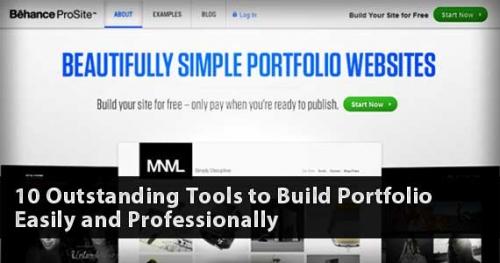 10 отменных сервисов построения страниц портфолио легко и профессионально
