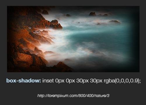 Внутренние тени в CSS: изображения, тексты и прочее