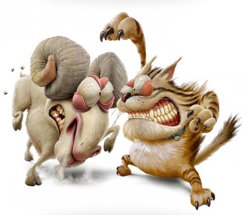 Забавные и необычные изображения животных, которые вам стоит увидеть