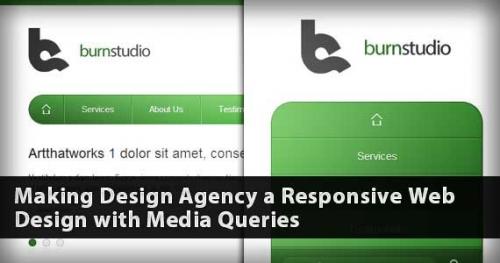 Руководство по Media Queries: конвертируем Burnstudio в адаптивный веб-сайт