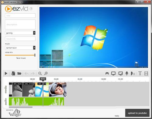 Скачать программу для записи видео с экрана монитора