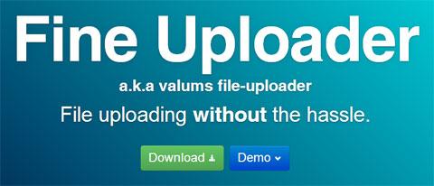 Fine Uploader: файловый загрузчик на Javascript