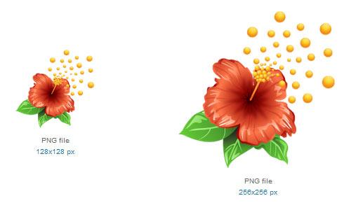 Цветочные иконки