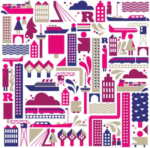 Яркие впечатляющие иллюстрации в графическом дизайне: 36 примеров