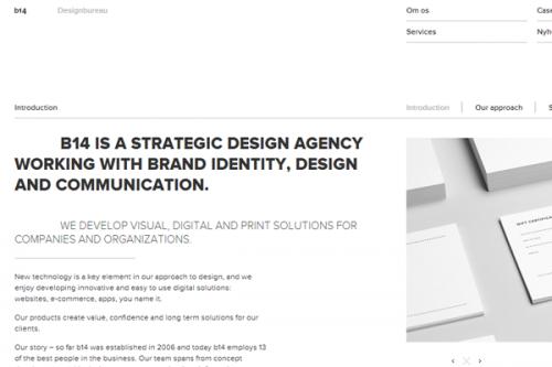 Минималистический веб-дизайн