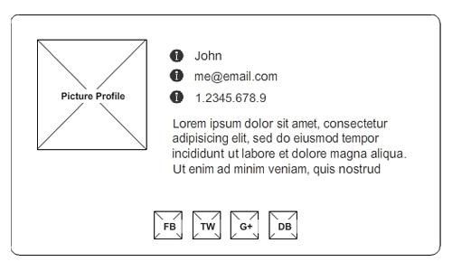 Руководство Sass: разработка онлайн-vCard при помощи Sass и Compass