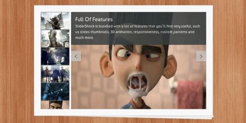 8 слайдеров с дополнительными свойствами и поддержкой видео