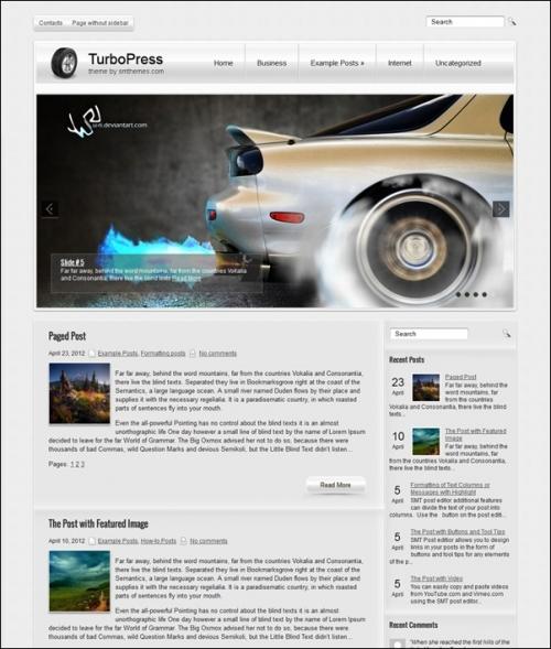 Более 40 адаптивных бесплатных шаблонов WordPress