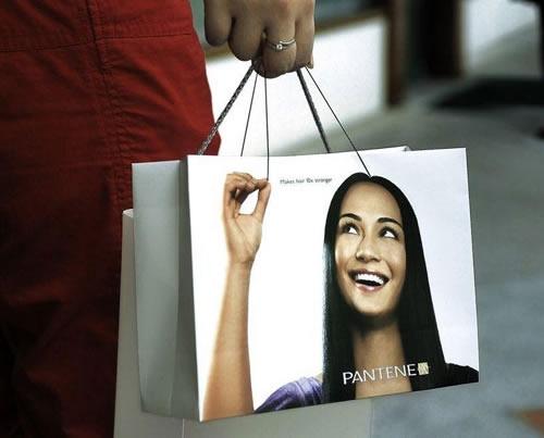 40 примеров умного и оригинального дизайна хозяйственных сумок/пакетов