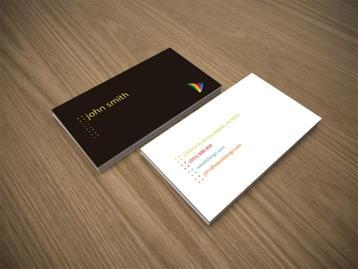 Скачать шаблоны визитки psd