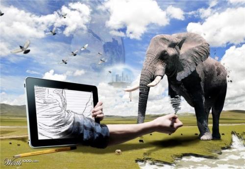 Креативные фото-манипуляции