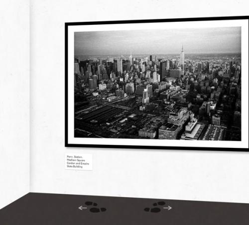 Эксперимент: 3D галерея изображений
