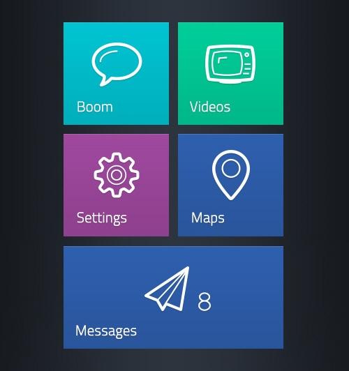 UI-набор Polaris + набор иконок Linecons (AI, PDF, PNG, PSD, SVG)