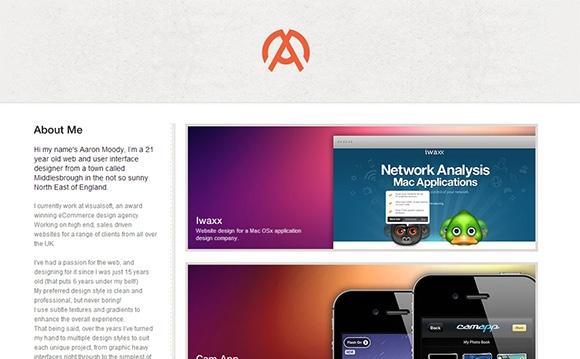 Дизайн сайтов портфолио