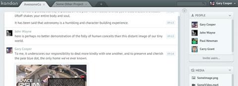 Kandan: современное чат-приложение с открытым исходным кодом