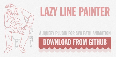 Lazy Line Painter: SVG-�������� �� jQuery